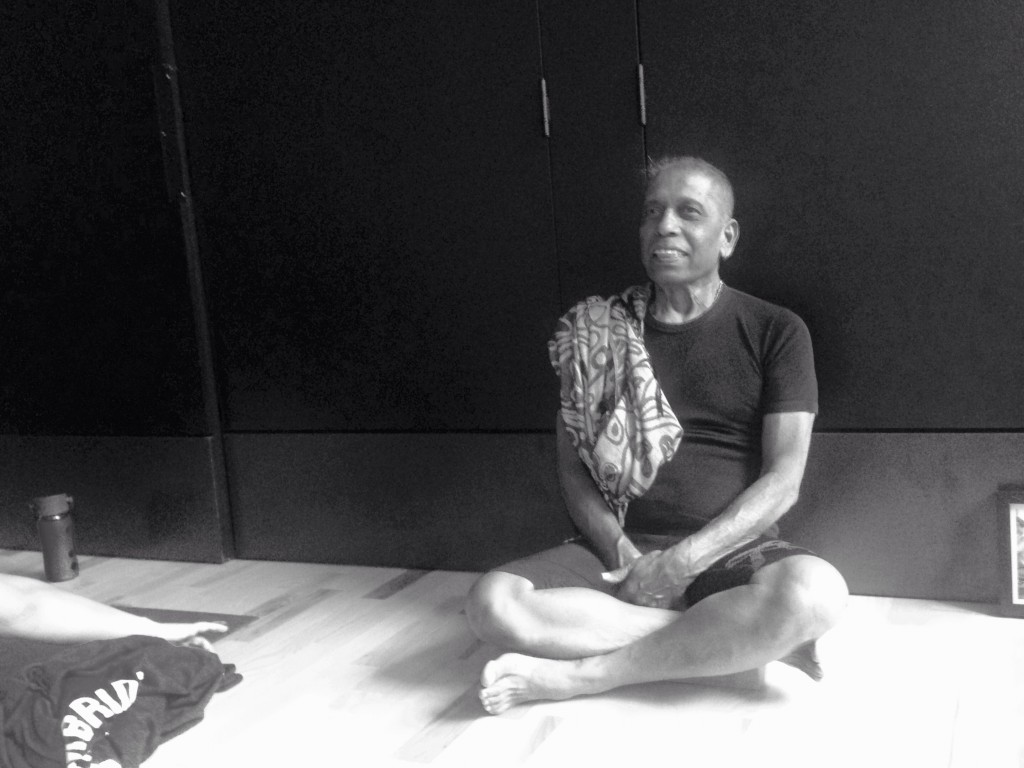 An encounter with Manju Jois; son of Pattabhi Jois, the founder and guru of Ashtanga Yoga